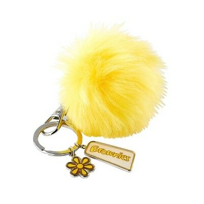 Brownie Pom Pom Keyring Brownie Uniform New