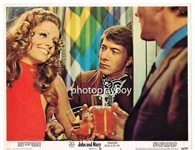 Dustin Hoffman Lusts 4 Bar Hottie B4 Mia Farrow Puts Out John & Mary Lc 1969