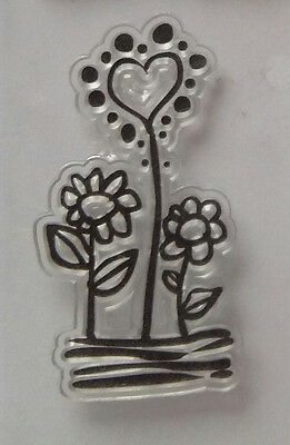 Flowers Clear Stamp Stempel
