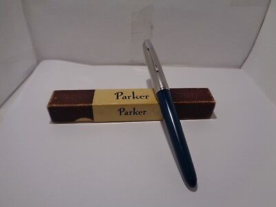 parker 51 fountain pen and parker box