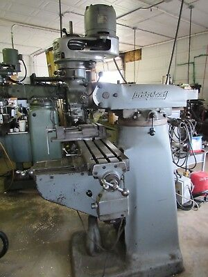 Bridgeport Series 1 Knee Mill  48x9 with Power Feed