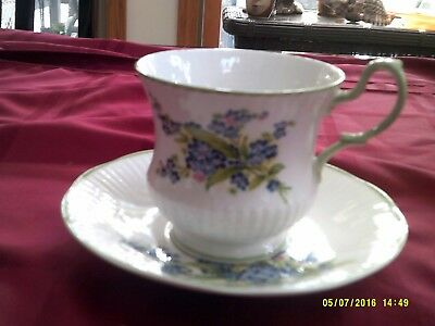 Bone China Cup and Saucer-Rose of England