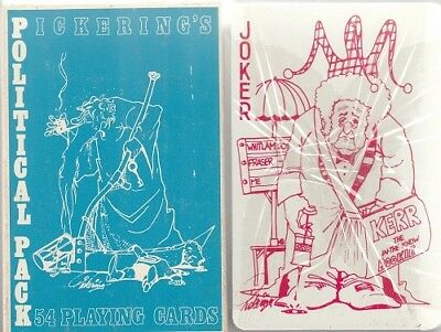 "M27. Australia ""Pickering's Political Pack"" by William Balmain 1975"