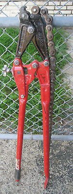 "USED Reed SC59 SC-59 Soil Pipe Cutter With 36"" Chain Free Shipping"