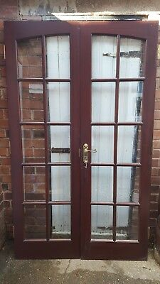 Solid Wood External Door Picclick Uk