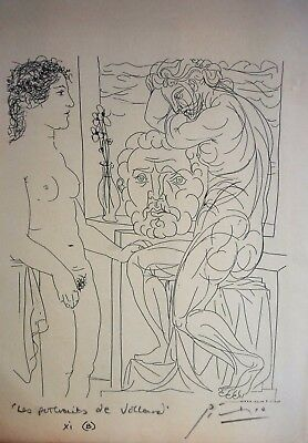PABLO PICASSO - SUITE VOLLARD - Ed. Cercle D´art - Firmada a mano.