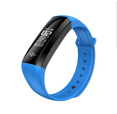 Blood Pressure Oxygen Heart Rate Sport Health Monitor IP67 Watch Smart Bracelet