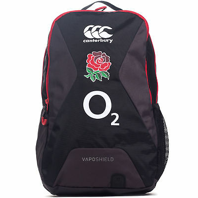 Canterbury England 2017/18 Small Rugby Training Backpack Bag Black