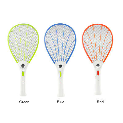 Electric Fly Swatter Bug Bat Zapper luminating Mosquito Killer Racket Shell Tool