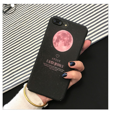 Simple  Ultra Black Night Pink Plane Design Phone Case Cover For iPhone 6 Plus