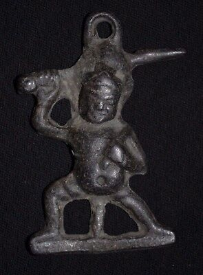 Stunning Ancient Roman Bronze Statue. Cult of Infant Warrior, circa 250-350 AD.