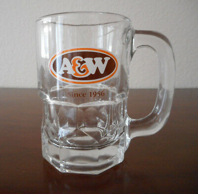 "A & W VINTAGE ROOT BEER MUG DIMPLE10 0Z - GREAT LOGO  ""Since 1956"""