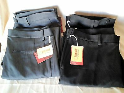 Wholesale Lot of 40 Mens Haggar Performance Dress Slacks NWT mixed sizes styles