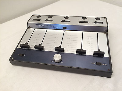 Uher A 121 Stereo Transistor Mischpult