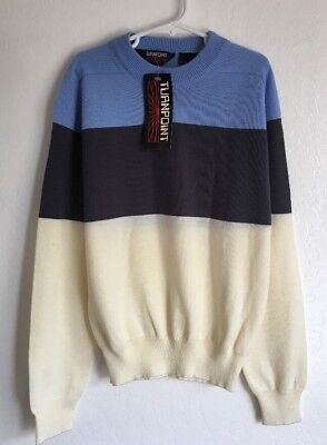 Vintage SKI Sweater TURNPOINT Size Kids 14 NWT