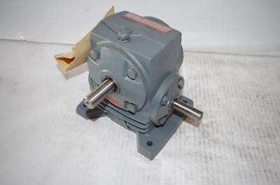 Boston Gear Speed Reducer Reductor  T118-20   Am1 Ratio: 20:1  370 In-Lbs Torque