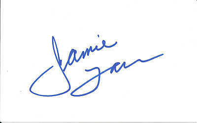 Jamie Farr M.a.s.h. In-Person Signed Card