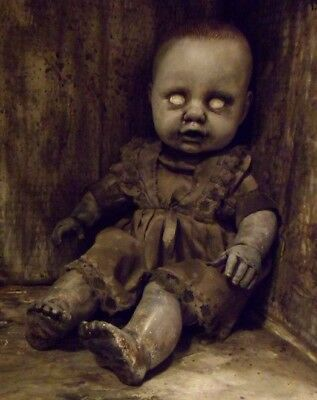 OOAK  Halloween Prop Decoration Scary Horror Baby Doll