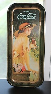 """Vintage 1916 """"WWI GIRL"""" Coca Cola Tray   1972 Reproduction   FREE Shipping!!"""