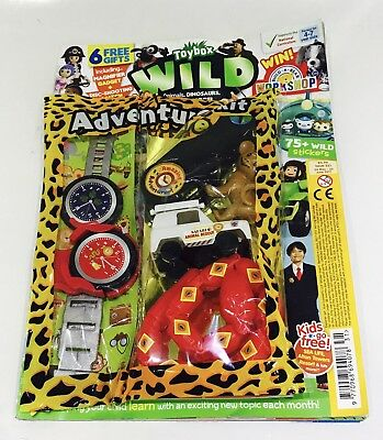 Toybox Magazine #331 WILD - AMAZING FREE GIFTS! (NEW)