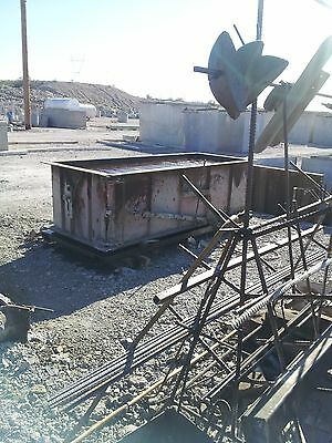 Precast concrete BURIAL VAULT FORM MOLD WITH TURNING BAR