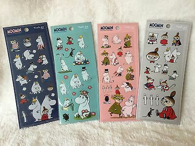 Moomin Valley  Snorkmaiden Little My PVC Stickers Scrapbooking Cardmaking DIY