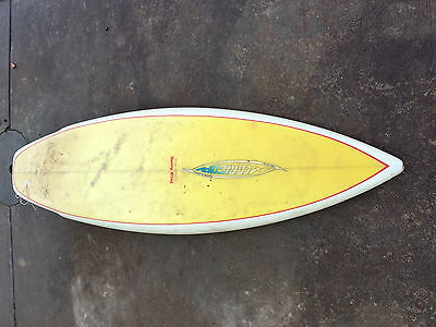 "McGrigor 5'6"" x 20.5"" jet / keel finned thruster with fin box"