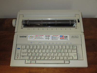 Brother AX-250 Electronic Typewriter