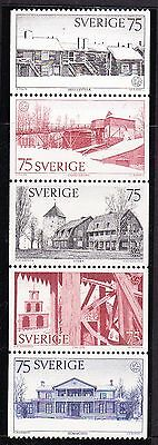 Sweden 1975 Heritage Year  Booklet Pane - MNH