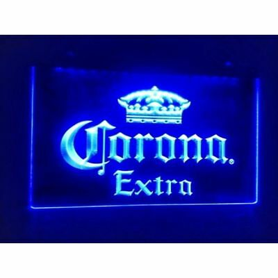 Corona Extra Beer Pub Bar Man Cave LED Neon Light Sign 16X12 Inches