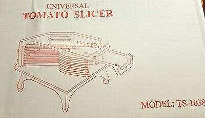 Universal TS-1038 Sliding Vegetable / Tomato Slicer