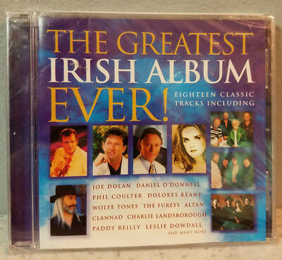 Various Artists - The Greatest Irish Album Ever - Various Artists CD NEW