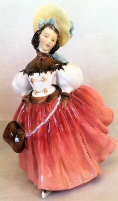 """Royal Doulton Figurine The Skater HN 2117 7-1/4"""" Tall (Mint Cond"""