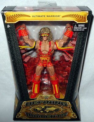 Defining Moments Ultimate Warrior Figure WWF Wrestling MIB WWE Toy Mattel DMF60
