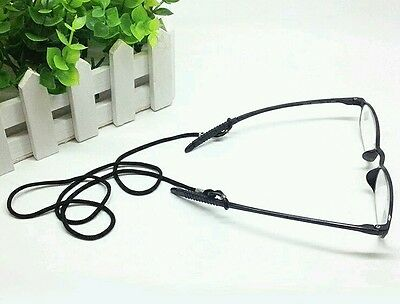 Black cord Spectacle Sunglasses reader eye glasses Chain  lanyard strap string