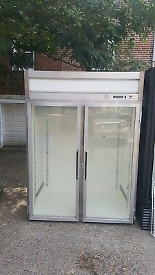 Jordan 2door commercial freezer used