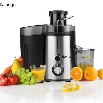 Homdox 1L Electric Citrus Fruit Juicer Orange Juice Extractor Squeezer 350W