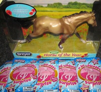 Breyer Classics Collection 2017 Horse of Year Lot of Mini Whinnies Surprise Bags