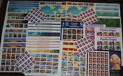 USPS $177.28 in US Postage!!! A variety of Mint Unhinged Full Sheets - Huge Lot!