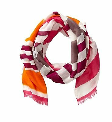 San Diego Hat Company Multi Striped Scarf With Fringe