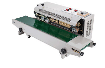 Automatic Horizontal Continuous Plastic Bag Band Sealing Sealer Machine FR900L