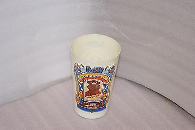 Vintage A&W Root Beer Bear Plastic Cup Canada RARE A Truly Magnificent Creature
