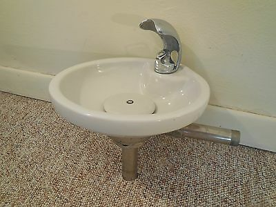 Vintage ~ American Standard Ceramic Porcelain Drinking Water Fountain Bubbler