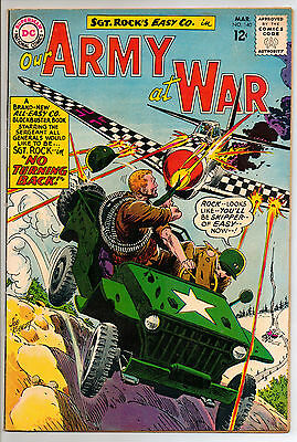 Our Army at War #140 (MAr 1964, DC) FN 3RD ALL ROCK ISSUE