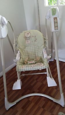 Fisher-Price Smart Stages 3 in 1 Rocker swing Excellent Condition P/up CAMDEN