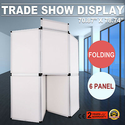 7Panel Exhibition Folding Banner Display Board Trade Show Stand With Header