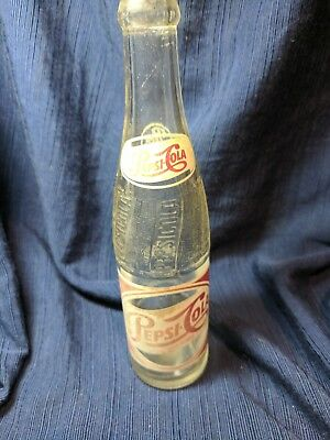 Pepsi Cola German Bottle - 1961 - Bottled in New York, Exported to Germany