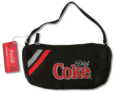 Diet Coke Coca-Cola Black Clutch Bag Purse Licensed NEW tags nwt nip soda merch