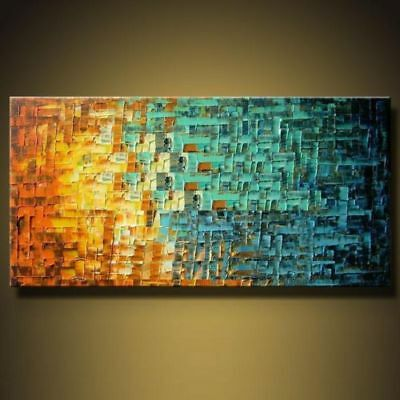 Modern Abstract Large Wall Art Oil Painting On Canvas