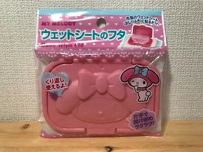 Sanrio My Melody Wet tissue Baby Wip Lid Cover daiso japan F/S